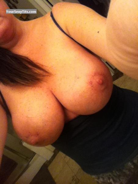 Tit Flash: My Medium Tits By IPhone (Selfie) - MILF Lawyer from United States